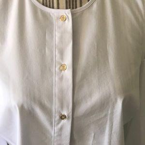 Michael Kors Tops - 🔥1 hr SALE - Michael Kors Cold Shoulder Blouse